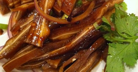 Pig Ears at Rice Bowl Cafe