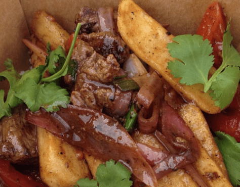 Lomo Saltado from Llamas Trailer