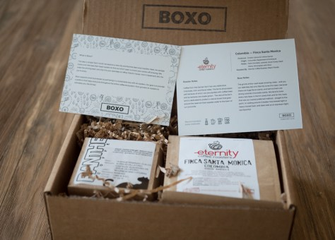 Boxo Coffee delivery