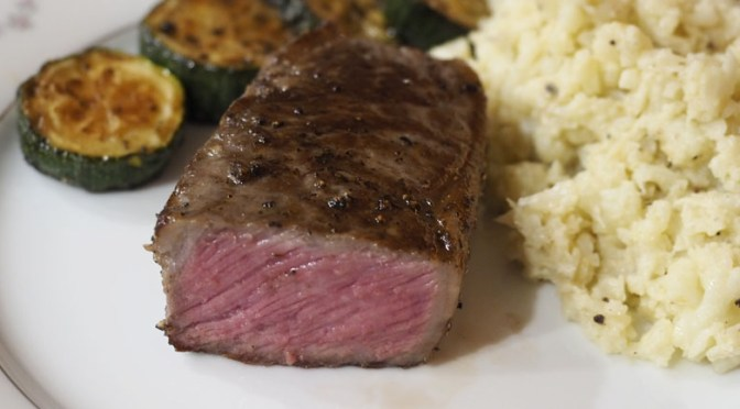 perfect medium rare sous vide