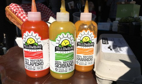 Yellowbird hot sauce from Austin Texas