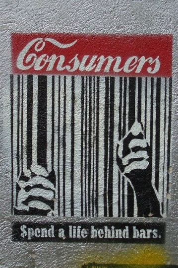 Remembering to Live Simply in a Consumer Driven Culture.