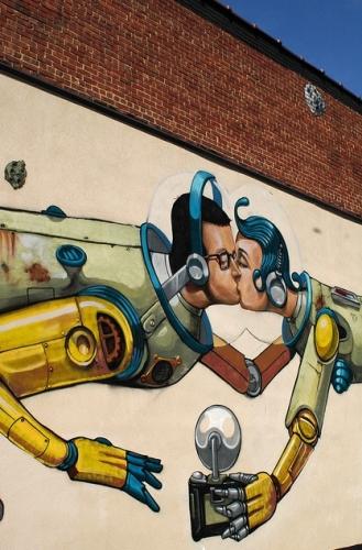 Selfie Street Art