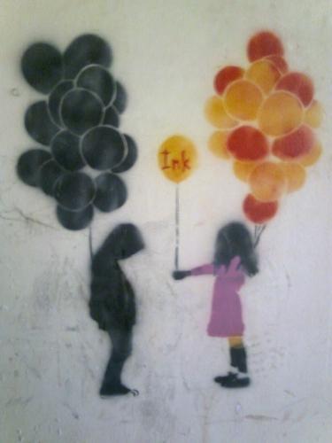 give balloon