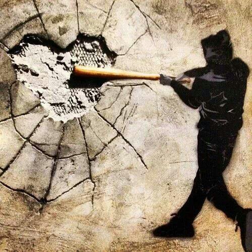 heartbreak street art