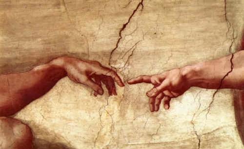 divine spark michaelangelo