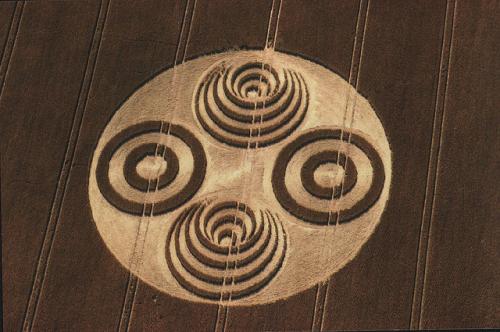 crop circle Ian Burt