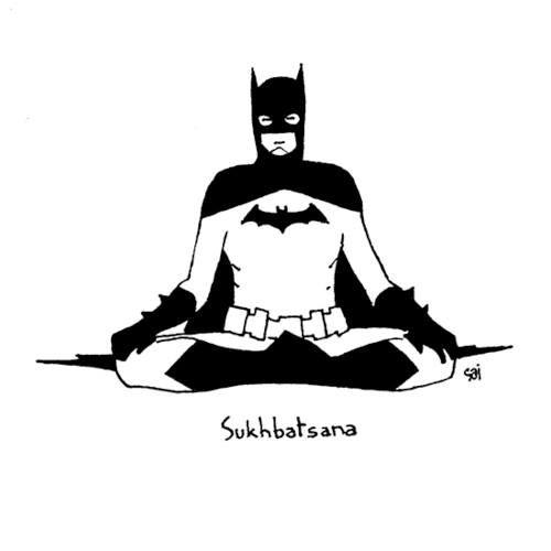 Batman Yoga