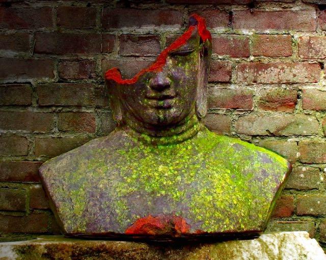 buddha broken