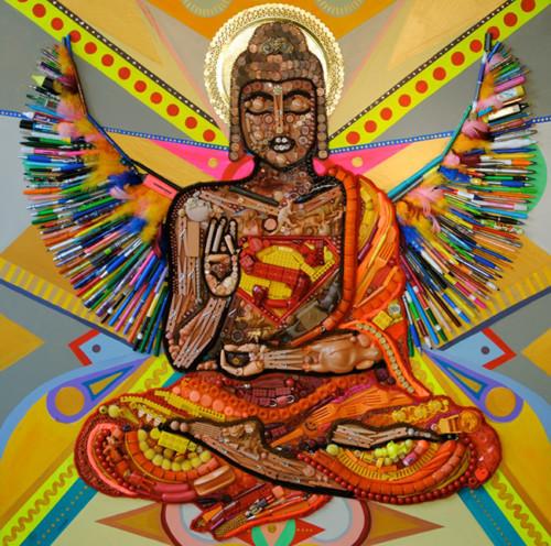 buddha superman