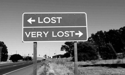 When You're Buddhist & Lost.