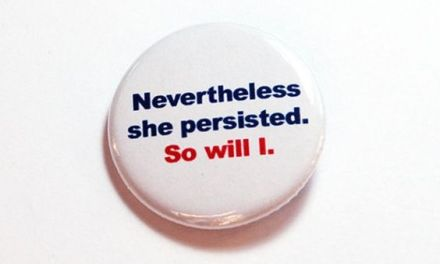 She Persisted, & So Will I.