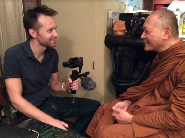 We Talk to The Odd Monk {Podcast}