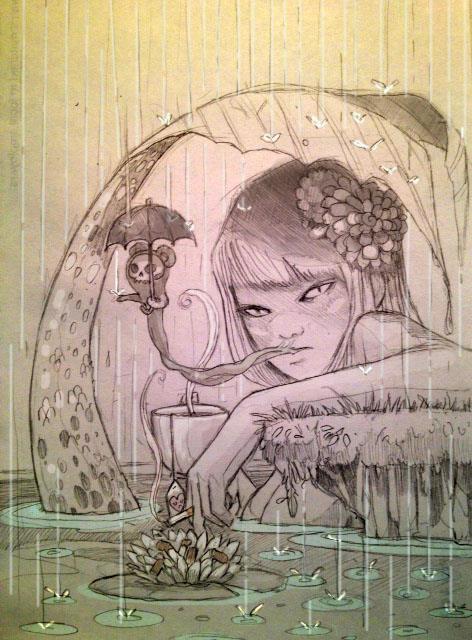 Smoking Wallpaper Girl Chiara Bautista Thetattooedgeisha