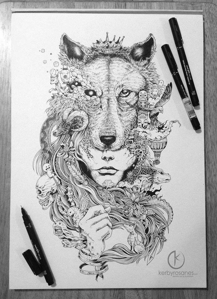 Sketchy Stories Thetattooedgeisha