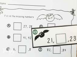 Bat missing numbers