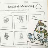 winter nonstandard measuring
