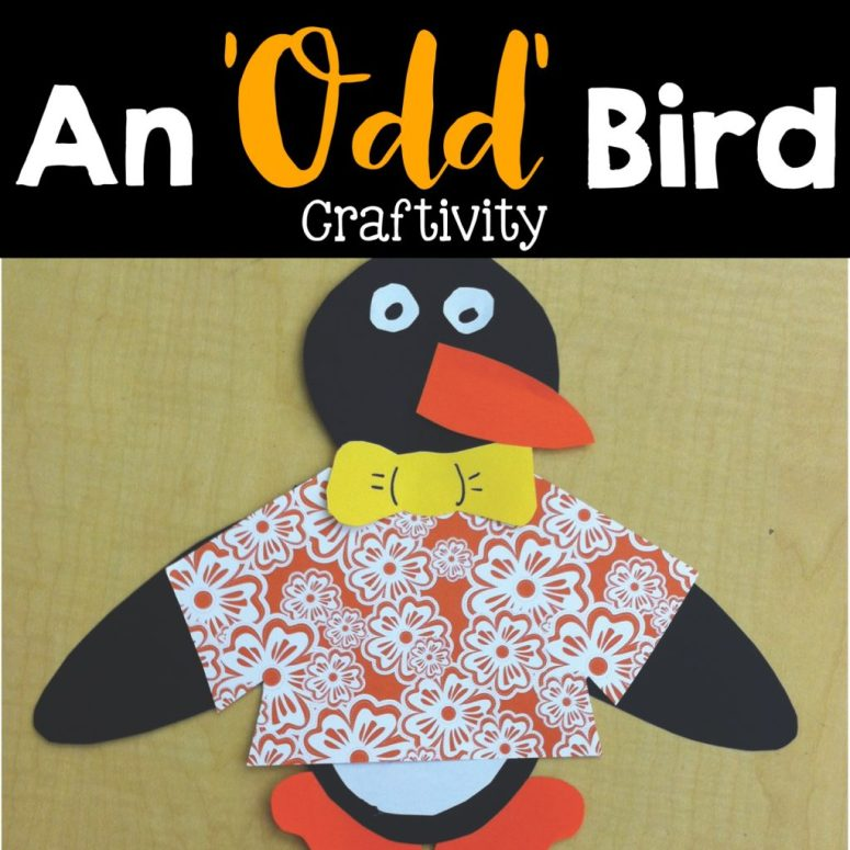odd bird craftivity