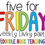 Five For Friday (10/21/16)