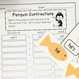 penguins contractions