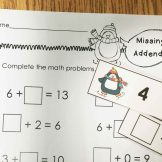 penguin missing addends