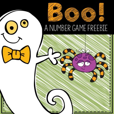Boo! Math freebie
