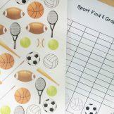 Sports Find, Tally and Graph
