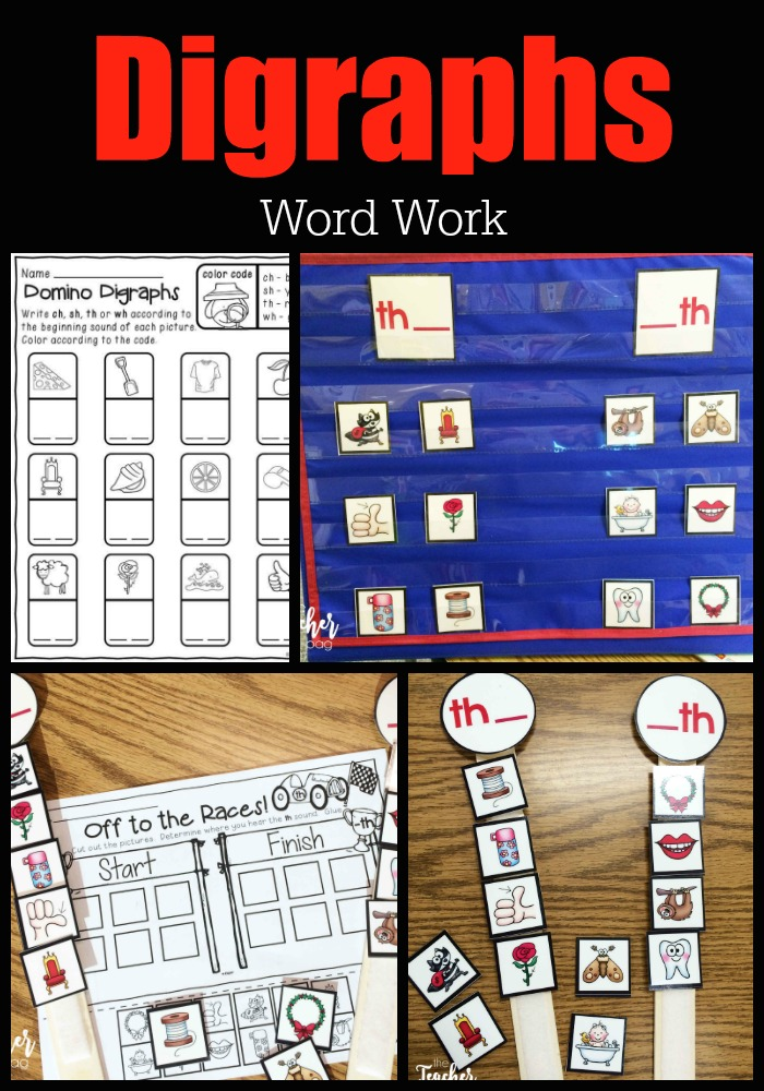 Digraph word work