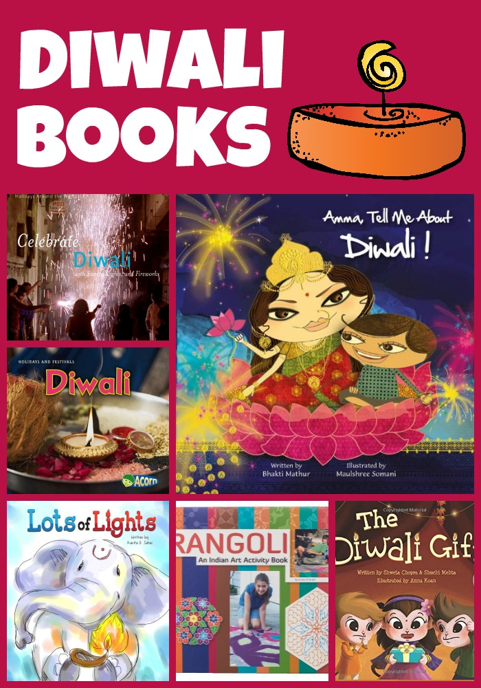 diwali books Collage