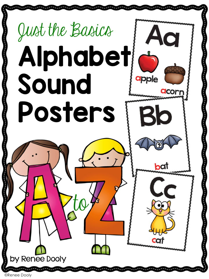 Basic Alphabet Sound Posters cover