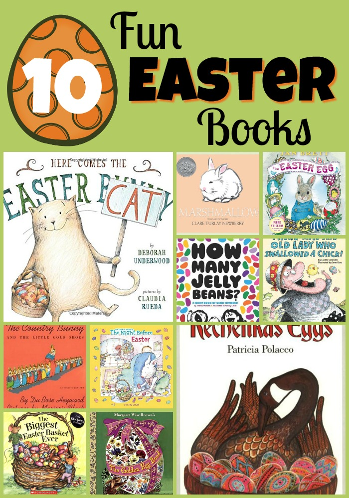 Easter book Collage