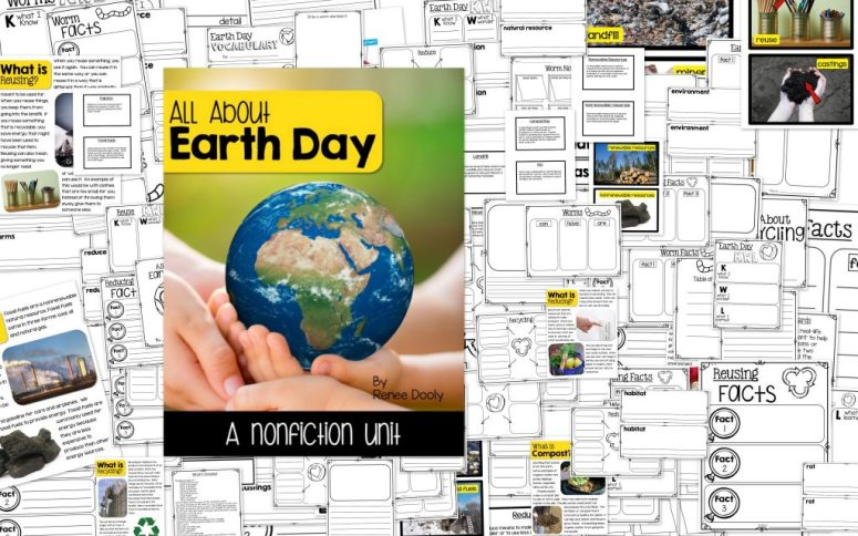 Earth Day nonfiction collage