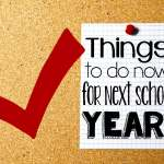 Do It Now! Getting Ahead For Next Year