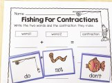 camping contractions