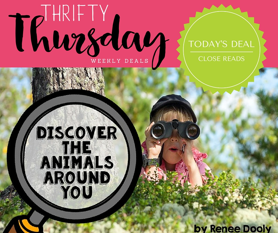 Thrifty Thursday Close Reads