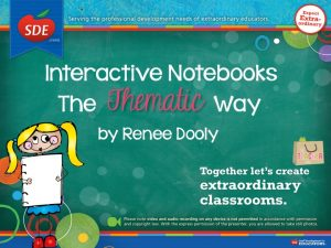 SDE Interactive Notebooks