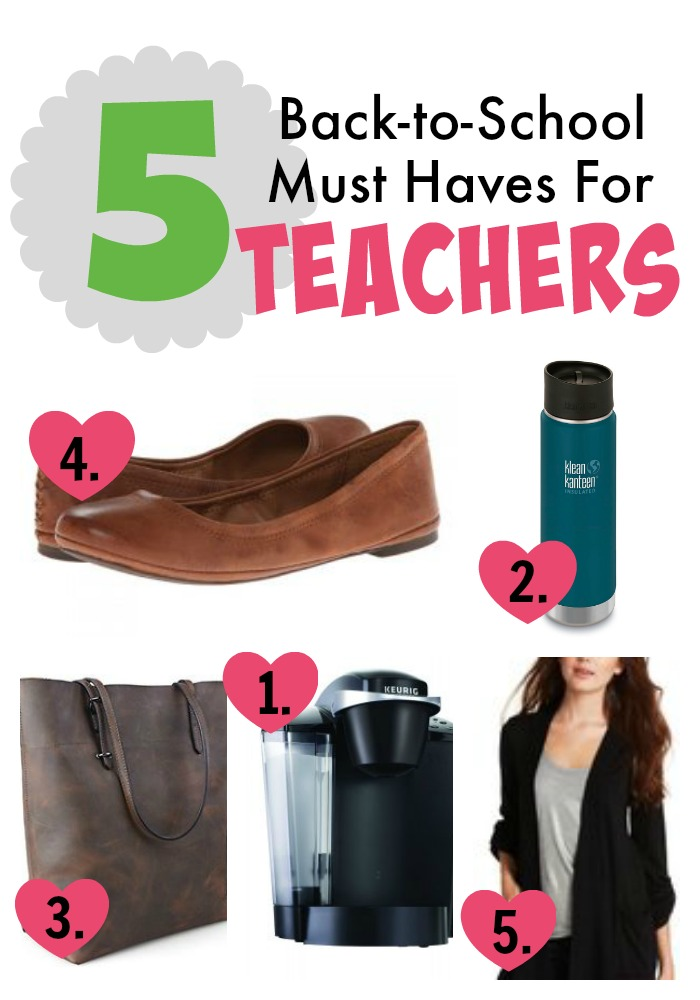 five teacher btw must haves