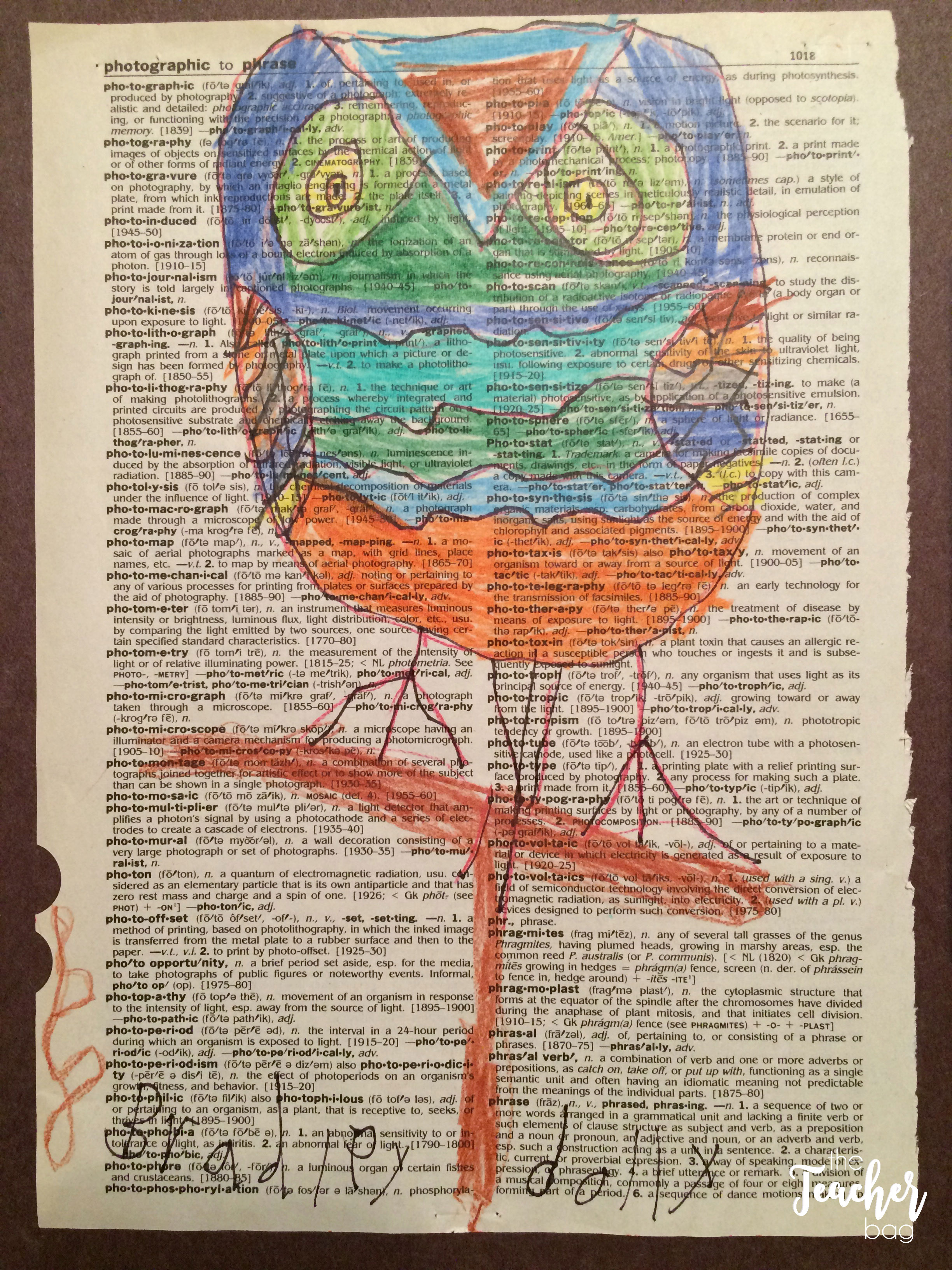 wise owls on dictionary pages