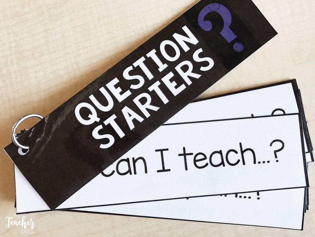 genius hour question starters