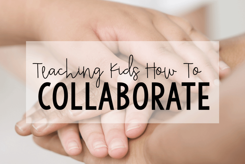 Teaching kids to collaborate