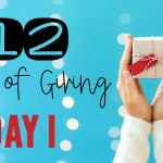 12 Days of Giving – Day 1 Freebie