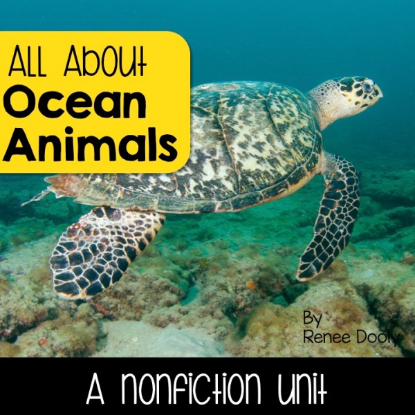 Ocean Animals Nonfiction Unit
