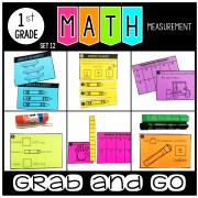 Grab and Go Math Measurement