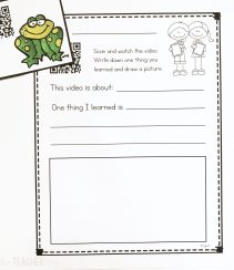 frogs nonfiction unit
