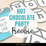 Hot Chocolate Party Freebie