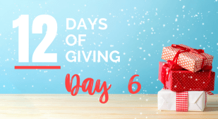 12 days of giving day 6