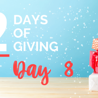 12 days of giving day 8
