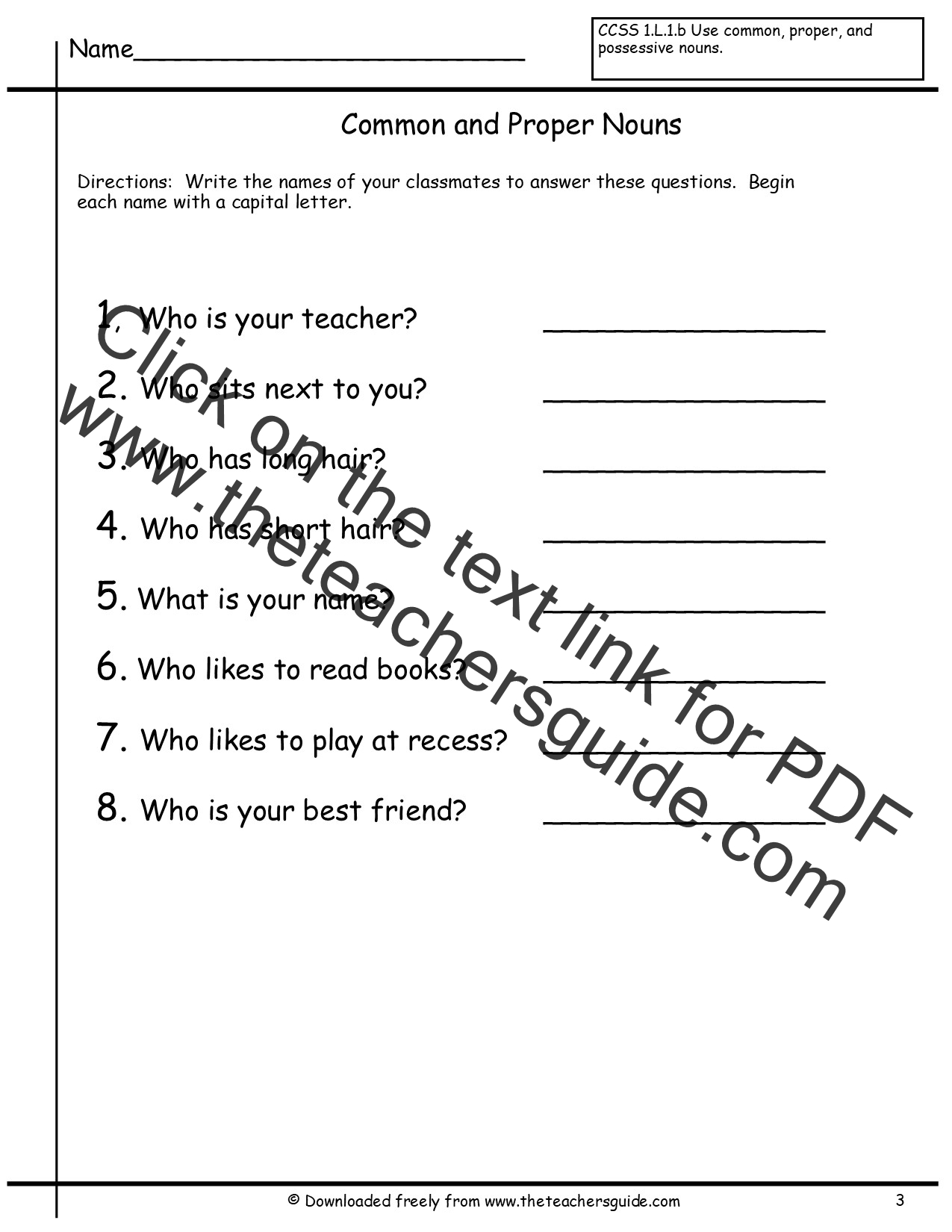Free Collective Nouns Worksheet 2nd Grade