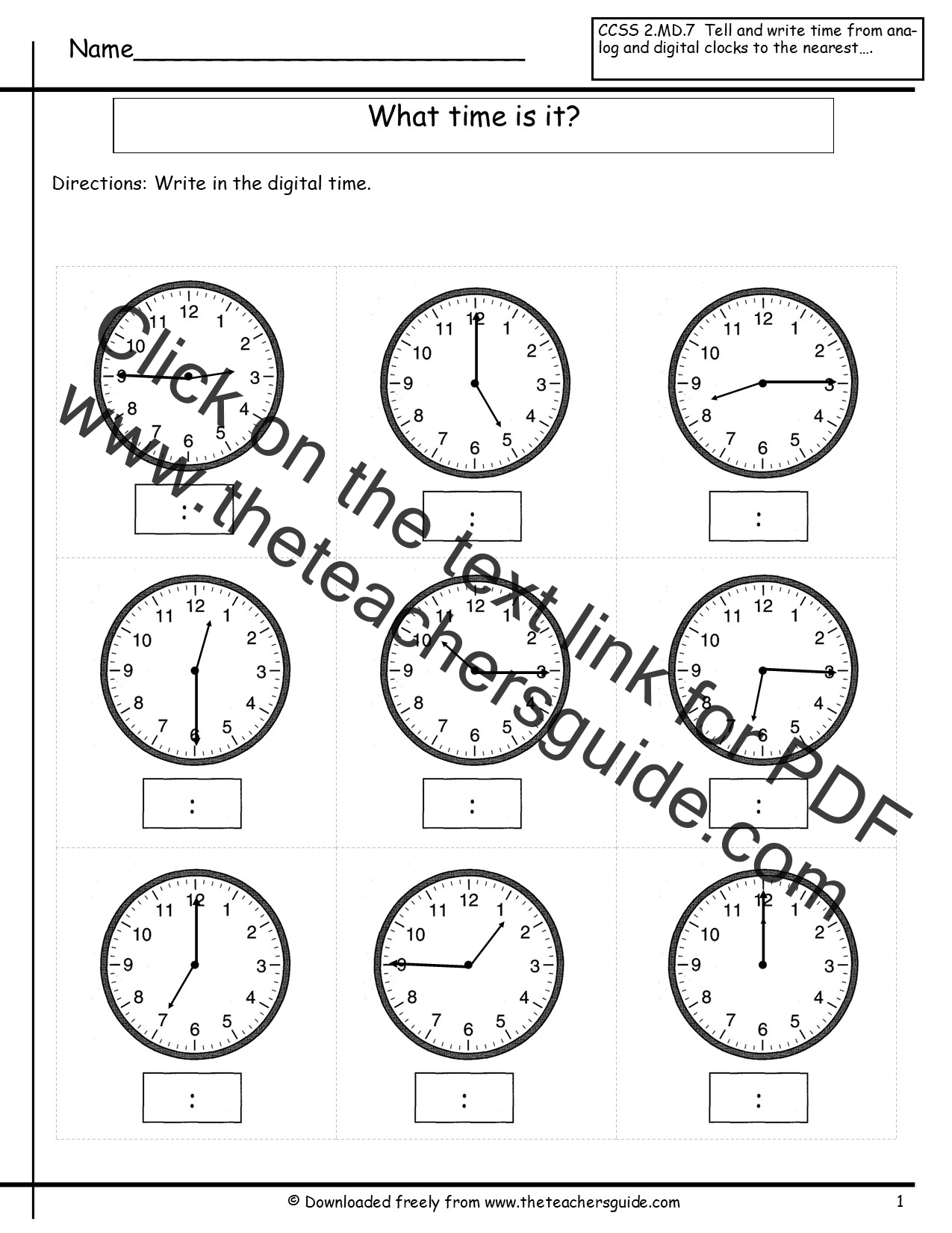 hight resolution of time worksheet: NEW 887 TIME WORKSHEET TO THE HALF HOUR