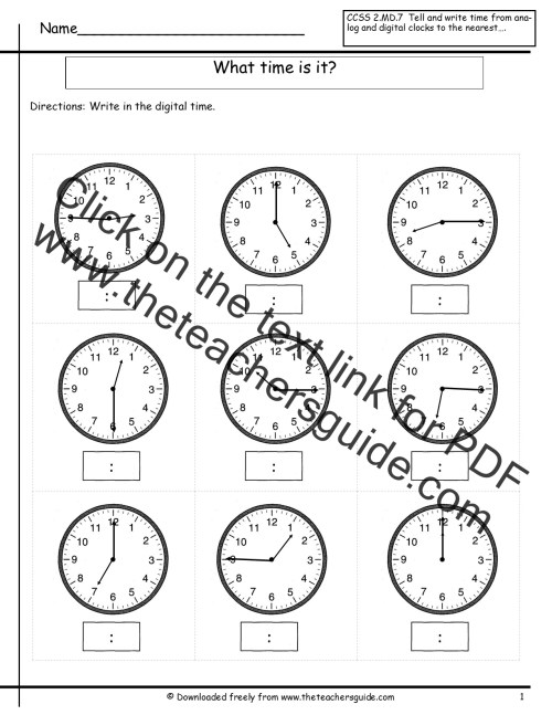 small resolution of time worksheet: NEW 887 TIME WORKSHEET TO THE HALF HOUR